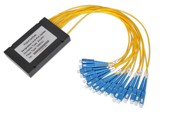 0.9mm 2.0mm 3.0mm 케이블으로 1 * 32 및 2 * 32 광섬유 커플러, 다중 모드 광섬유 분배기