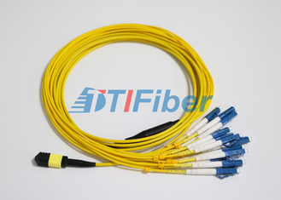 UPC 광섬유 커넥터와 LC SM MTP / MPO 광 패치 리드