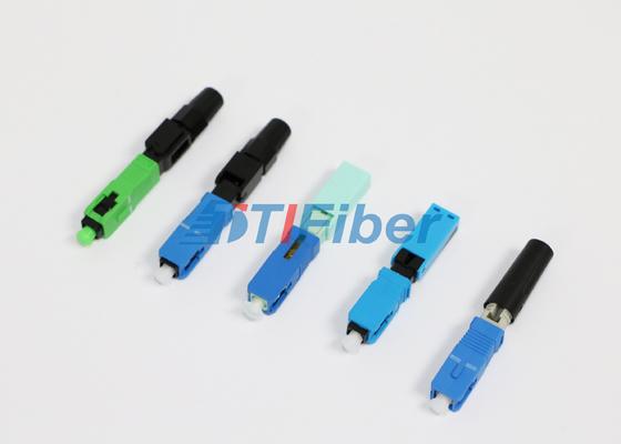 높은 삽입 손실을 가진 FTTH 네트워크를 위한 FC ST LC 광섬유 커넥터